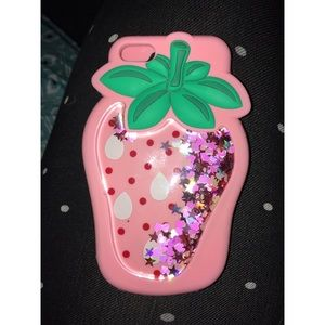 Accessories - iPhone SE/5s/5c Strawberry Case